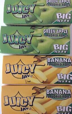 Juicy Jays Flavoured Big Size Rolls Rolling Smoking Papers Rips Mix N Roll