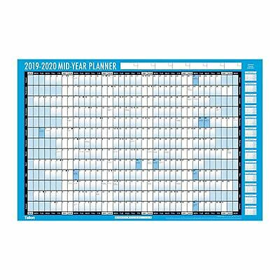 3924 Academic Student 2019-2020 A2 Wall Planner Calendar, Pen and Stickers