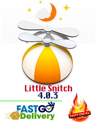 Little Snitch 4.0.3 For MAC - Protect Your Device - Fast Delivery