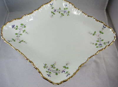 Brown-Westhead Moore Cauldon Mortlocks Dish French Sprigs (damage)