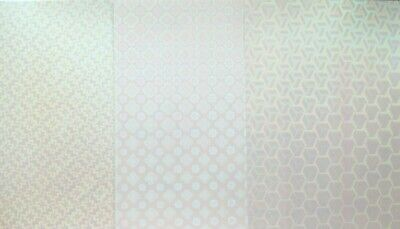 10 x A4 Holographic Paper in 3 Variations 120gsm NEW