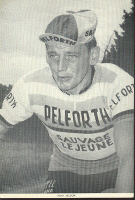 Julien DELOCHT Cyclisme 60s Cycling Ciclismo PELFORTH SAUVAGE LEJEUNE cycliste