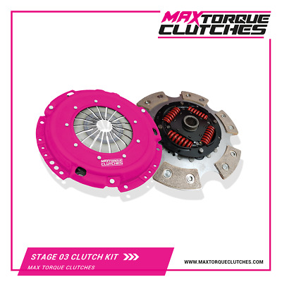 MTC Stage 3 Clutch Kit For Skoda Fabia 1.9 TDi 130 & 150 - Codes ASZ / ARL