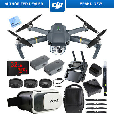 DJI Mavic Pro Quadcopter Drone w/ Camera & Wi-Fi + Virtual Reality Experience