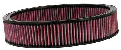 Replacement Air Filter K&N E-1650 For GM Cars & Trucks, V8, 1966-84