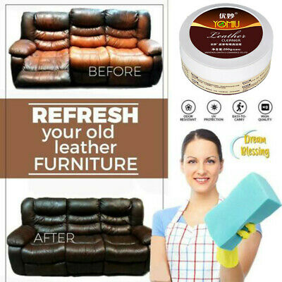 Multifunctional Leather Refurbishing Cleaner Cleaning Cream Best 2019 Newest