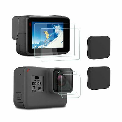 Screen Protector GoPro Hero 7 6 5 2018 Tempered Glass 6 PCS iTrunk Screen Lens