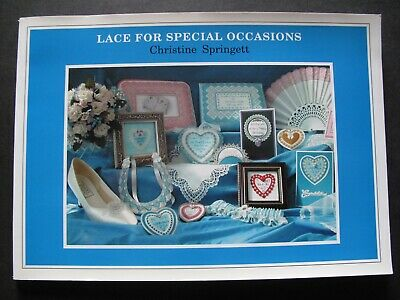 Lace For Special Occasions Designs By Christine Springett