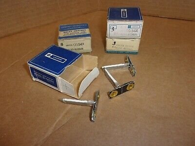 General Electric Relay Heaters CR123C0.54A, lot of 12