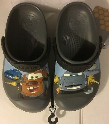 Crocs Classic Kids Roomy Fit Clogs Shoes Sandals in Size j1  DISNEY CARS
