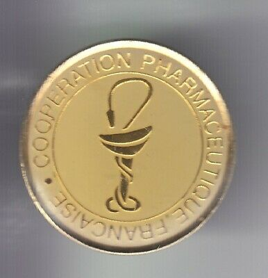 Rare Pins Pin's .. Ong Medecine Medical Pharmacie Caducee Cooperation France ~Eh