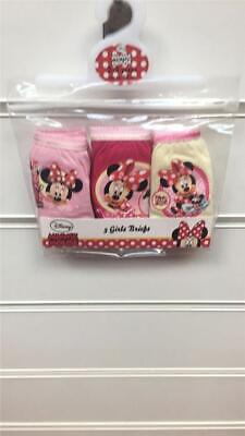 Girls Disney Minnie Mouse  white cotton pants girls/ baby / or toddler 3 pack