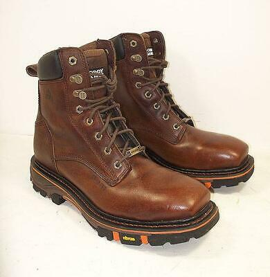 f94670c4ad0 CODY JAMES MENS Decimator Brown Leather Cowboy Boots DBP-0-A Shoes ...