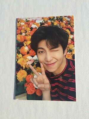 BTS Official Love Yourself World Tour Japan - Passport Photocard - RM / Namjoon