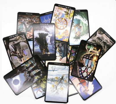 78card witch tarot future fate indicator forecast card chess table game beginner