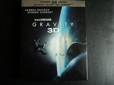 Combo Blu-Ray/Dvd Gravity Inclus Version 3D + Livret Zone B Comme Neuf