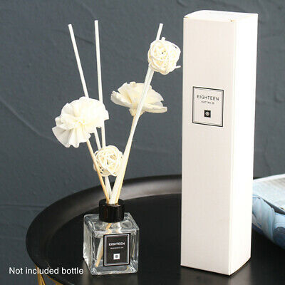Aroma Natural Flower Reed Diffuser Oils Glass Refill Room Air Freshener Oil
