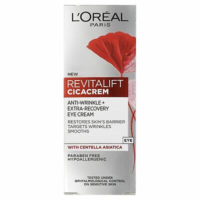 *3 Pack L'OREAL REVITA LIFT CICACREM WITH CENTELLA ASIATICA WOMENS 40ML SEALED*