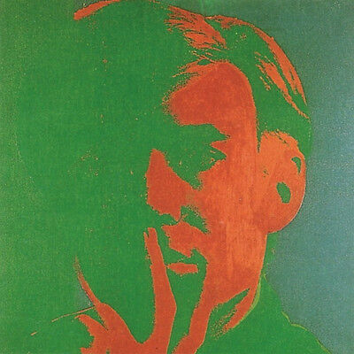 Self Portrait 1966-67 (Green) by Andy Warhol Art Print 26x26 Poster Out of Print