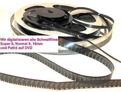 Filmtransfer/ Digitalisierung in Full-HD ,16mm Film ohne Ton/30 m