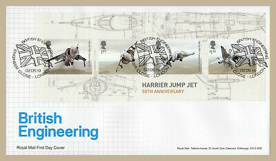 2019 BRITISH ENGINEERING Stamp Set or Mini Sheet FIRST DAY COVERS (choice)