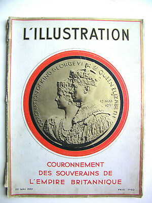 l'Illustration French magazine Special issue Coronation 1937