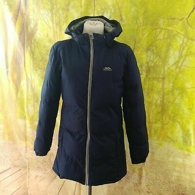"""Trespass Coldheat Navy Blue Quilted Coat, 18"""" pit to pit, 30"""" length, Age 11 12"""