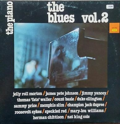 The Piano - The Blues Vol.2 (Italy 1982) : Various