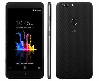 Brand New ZTE Blade Z MAX Z982 32GB Black Unlocked for AT&T T-Mobile Metro PCS