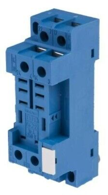Finder Relay Socket, 250V ac for use with 56.32 - Relais embase, 250V ac