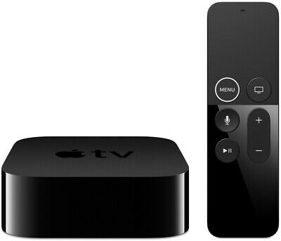 Apple TV 4K 64GB Streaming Device + Remote, Voice Search, Dolby Digital Surround