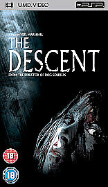 The Descent UMD Video for Sony PSP Full Length Movie-free post