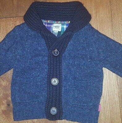 baker by ted baker  boys cardigan 6-9 months - wool top outerwear dressy