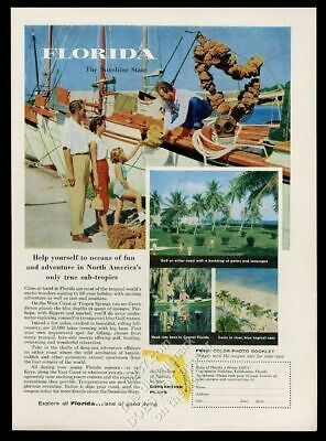 Collectibles Deep Sea Diver Diving With Sharks Met Life Fred Freeman 1956 Print Ad 1950-59