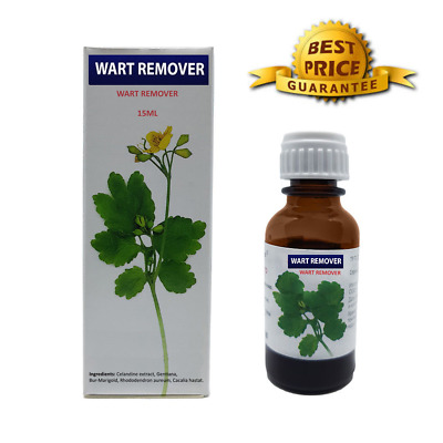 Super Strong Wart Treatment HPV Genital Warts Removal Remover Papilloma  15ml