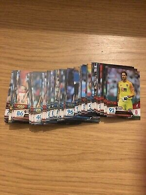 Match Attax Ultimate 2018/19 Full Set Of All 100 Base Cards Mint