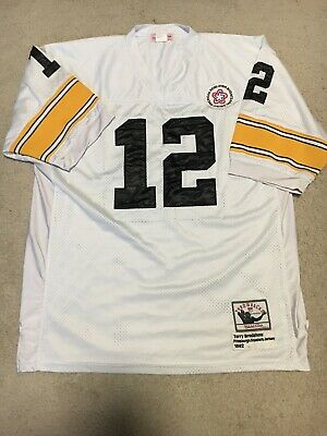 save off 97c35 1e61a PITTSBURGH STEELERS TERRY Bradshaw NFL Jersey Size L ...