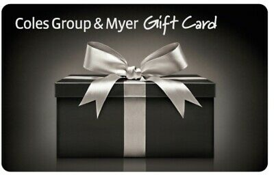 Coles Myer Gift Card $20