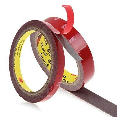 1/2cm 3M Strong Permanent Double Sided Super Sticky Tape Roll Versatile Adhesive