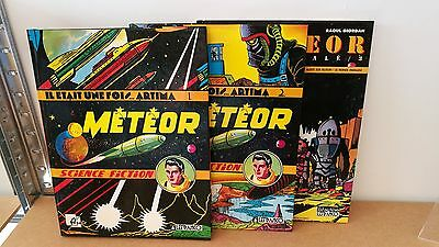 Integrales Meteor Tomes 1.2.3 Avec Posters Giordan Neufs