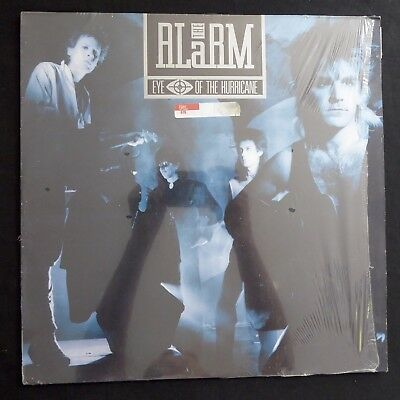 ALARM Eye Of The Hurricane UK ORIGINAL A2/B2 VINYL SHRINKWRAP 1987 LP EX