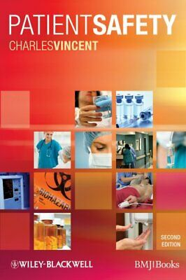 Patient Safety by Charles Vincent 9781405192217 | Brand New | Free UK Shipping
