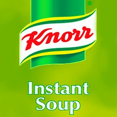 incup soup mixed case inc Knorr for 73mm in cup vending machines Klix Darenth