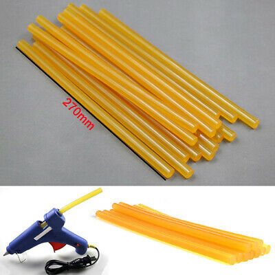5x Yellow Glue Sticks Auto Body Painltess Dent Repair For Hail Puller Too SS