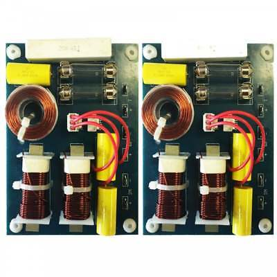 2 x Replacement 2-Way Speaker Passive Crossover / Xover 12dB 4 & 8 Ohm 200W 3kHz