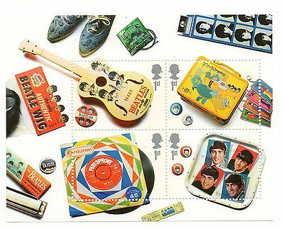 GB 2007 The Beatles Album Covers unmounted mini / miniature sheet MNH stamps