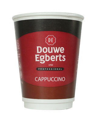 NEW Douwe Egberts Cappuccino drink 2GO 12oz fresh seal incup  X150 in cup drinks