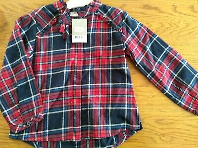 BNWT girls NEXT tartan blouse top. Age 4 years.         3/2