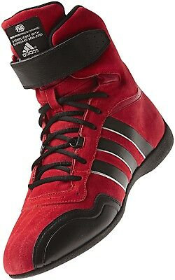 Children's adidas Feroza Elite FIA Approved Fireproof Race Boot Red/Black