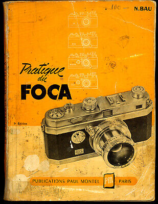 N.Bau libro Pratique du Foca, 1954 in francese  L157